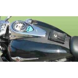 Cubredepositos de piel Kawasaki-Suzuki
