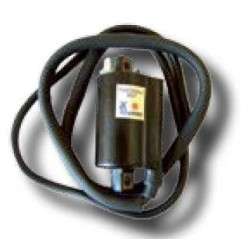 Bobina 12V - C.C. - 2,5 OHM - 2 FASTONS - CON CABLE 110 CM