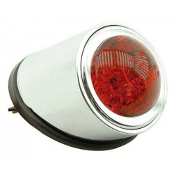 Piloto Custom Cromado 2 Leds 12V/1W 40mm