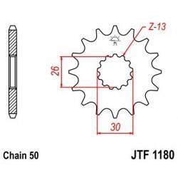 Piñon JT 1180 de acero con 19 dientes