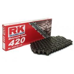 Cadena RK 420M con 122 eslabones negro