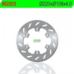 Disco de freno NG 003 Ø220 x Ø108 x 4