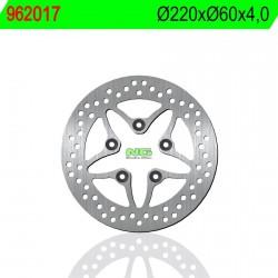 Disco de freno NG 017 Ø220 x Ø60 x 4