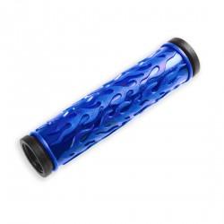 Par punos bici 125mm negro/azul