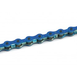 Cadena KMC BMX S1 112 Pasos Color azul