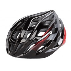 Casco V Bike MTB/Road 24 ventilaciones negro PC/PVC/EPS semi in mould. Talla L (58-61cm)
