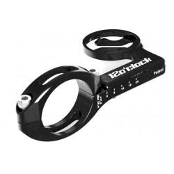 Soporte avanzado para dispositivos Garmin 12o´clock CNC anodizado negro