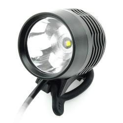 Luz delantera LED 1200lm CREE XML-T60 + bateria