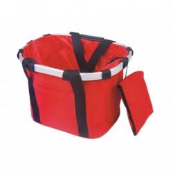 Bolsa transporte manillar Rojo