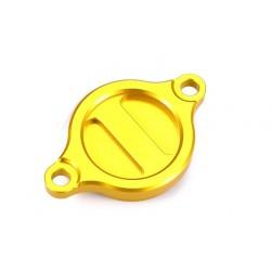Tapa filtro de aceite amarillo Suzuki
