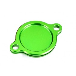 Tapa filtro de aceite verde Kawasaki Suzuki