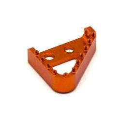 Puntera pedal de freno naranja Ktm