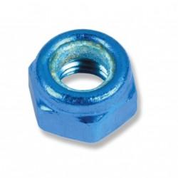 Kit 15 tuercas autoblocantes M8. Azul
