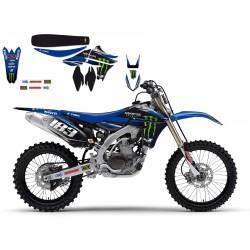 Kit Adhesivos Blackbird Réplica Team Monster Yamaha 2212R2