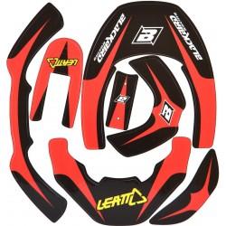 Adhesivo para Leatt Brace Blackbird rojo 5075/60