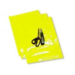 Adhesivo fondo para dorsal Blackbird amarillo fluor - Pack 3 uds 5051/50