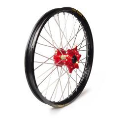 Rueda completa Haan Wheels aro negro 21-1,60 buje rojo 1 115019/3/6