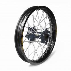 Rueda completa Haan Wheels aro negro 18-2,50 buje negro 1 86013/3/3