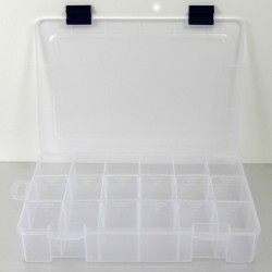 Caja con compartimentos 11/ 7 plástico Pro-Bolt COMPARTMENT 117