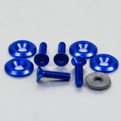 Kit tornillos/arandelas avellanados Pro-Bolt (4 pack) Aluminio azul CSKIT622625B