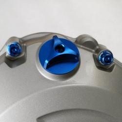 Tapón de llenado de aceite Pro-Bolt Honda Aluminio azul OFCH10B