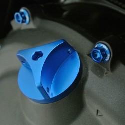 Tapón de llenado de aceite Pro-Bolt Kawasaki Aluminio azul OFCK10B