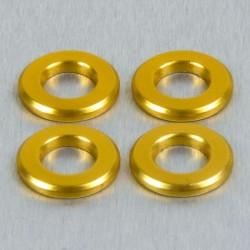 Arandela de Aluminio M6 oro LWA6G