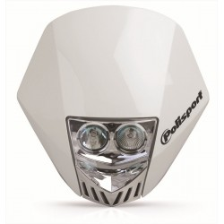 Careta Polisport HMX LED blanco 8657100001