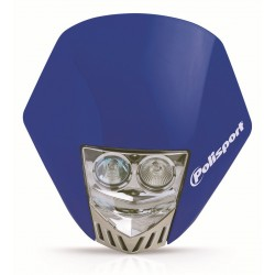 Careta Polisport HMX LED azul 8657100003
