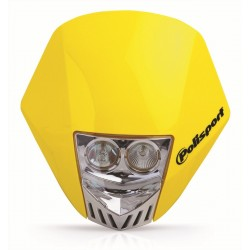 Careta Polisport HMX LED amarillo 8657100004