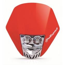Careta Polisport HMX LED rojo 8657100006