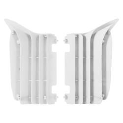 Aletines de radiador Polisport Yamaha blanco 8455500001