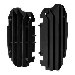 Aletines de radiador Polisport Kawasaki negro 8455900001