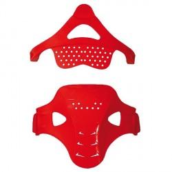 Protector central rodillera UFO Morpho fit rojo KR010B