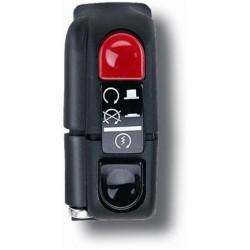 Botón on/off con arranque 9A Domino negro 0351AB.9A