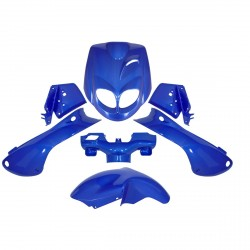 Kit 7 Piezas De Carenados Trekker Azul Metal