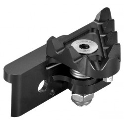 Recambio puntera pivotante pedal freno extrem CNC negro