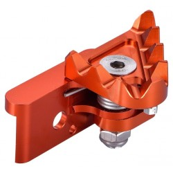 Recambio puntera pivotante pedal freno extrem CNC naranja