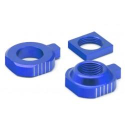 Tensores de eje trasero VART KTM/Husqvarna azul